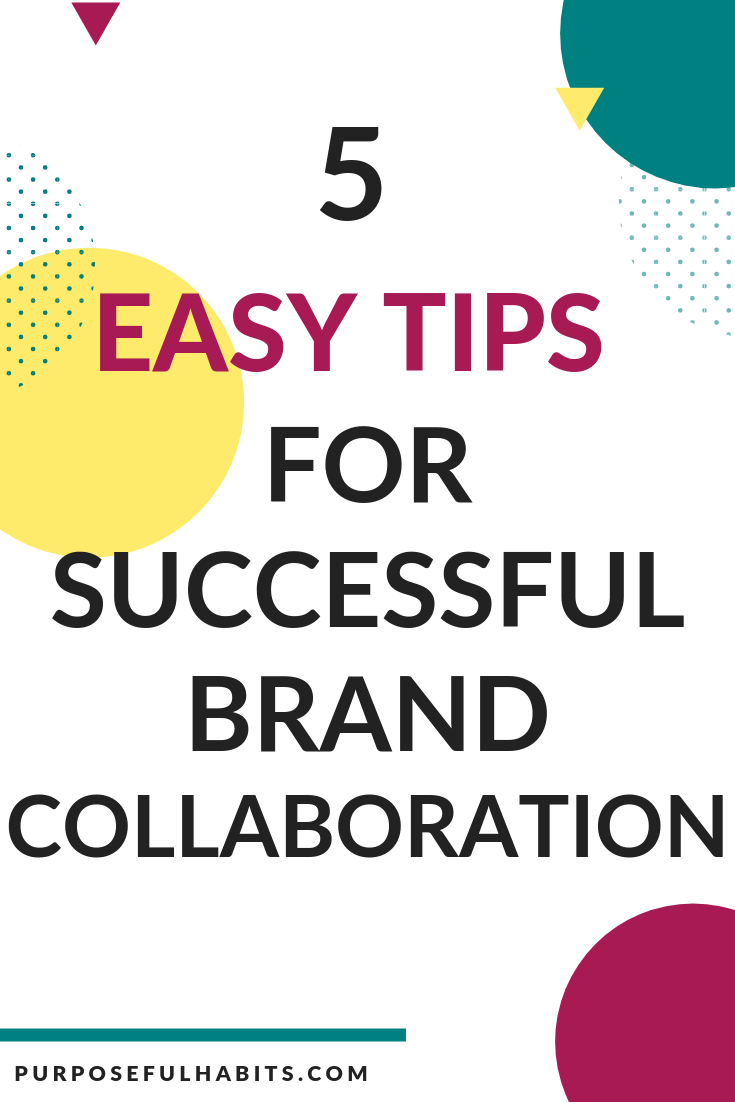 Are you interested in successful brand collaboration but do not know where to begin. This is a great way to extend your audience reach and be noticed while collaborating with a kown brand. Here is how to get started. Click through for more. #brand #collaboration #success #blog