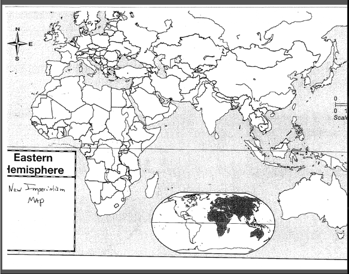 Eastern Hemisphere Map Quiz