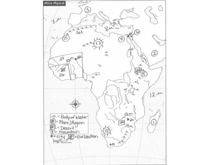 African Civilizations Map Review