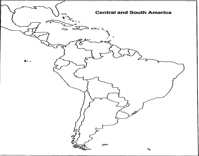 South and Central America Quiz
