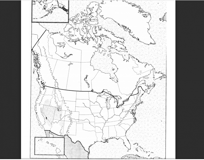 Anglo-America Physical Features-MRJH