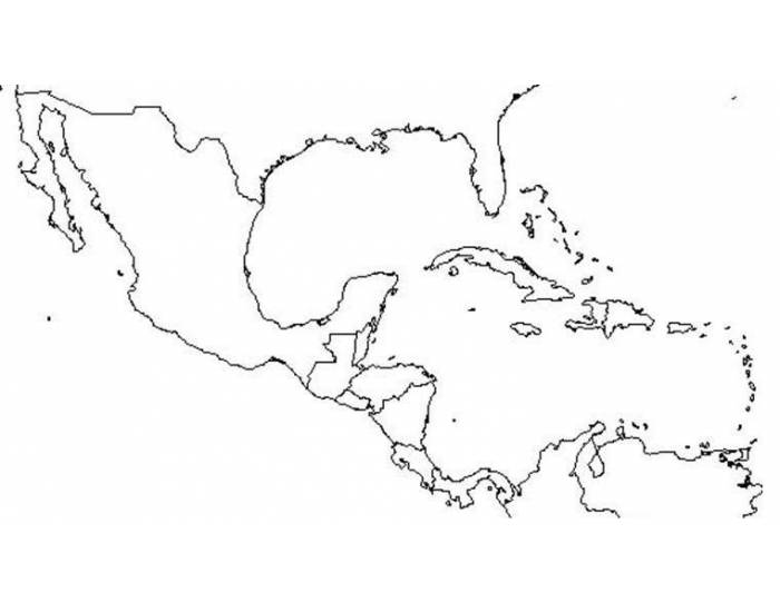 Mexico, Central America, and Caribbean Physical Features