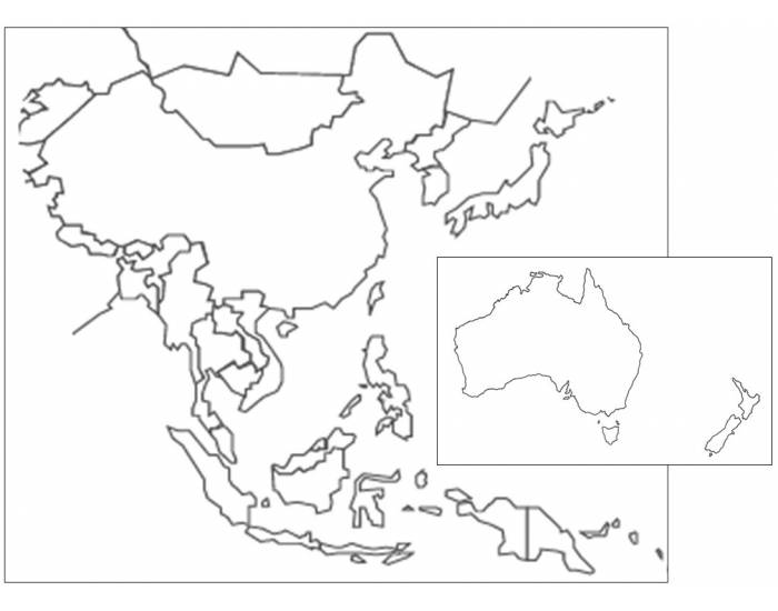 East Asia and Pacific Countries Quiz