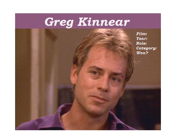 Greg Kinnears Academy Award nominated role
