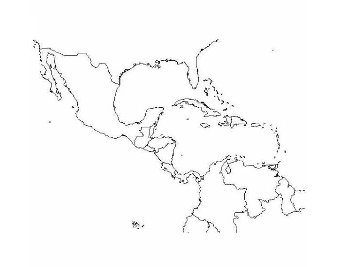 Spanish-Speaking Countries and Capitals of North America