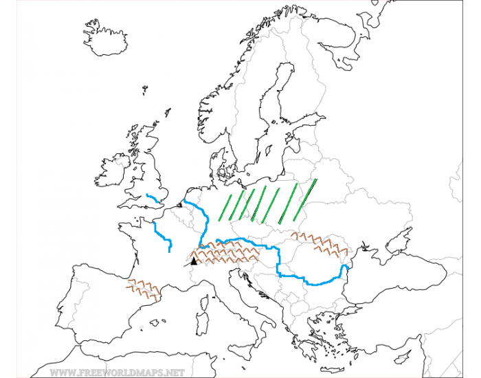 Physical Features Quiz of Western Europe