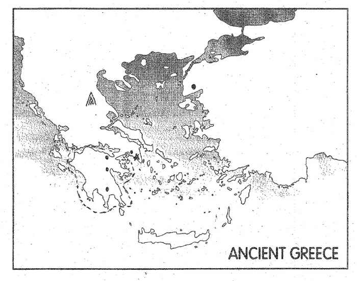 Ancient Greece Map Game