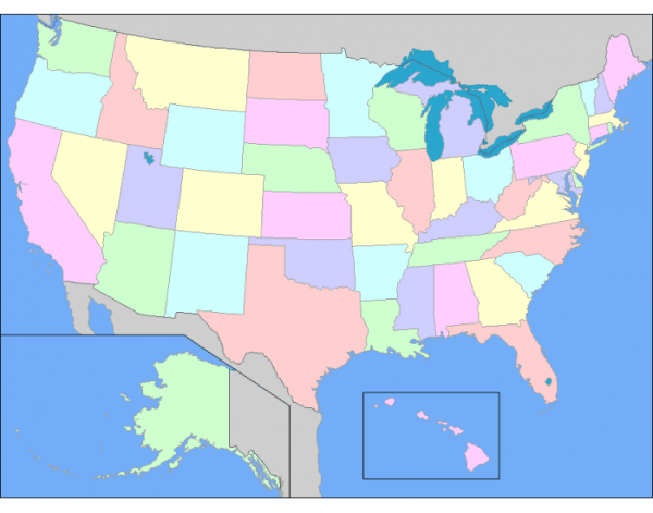 US States west of the Mississippi 2 PurposeGames