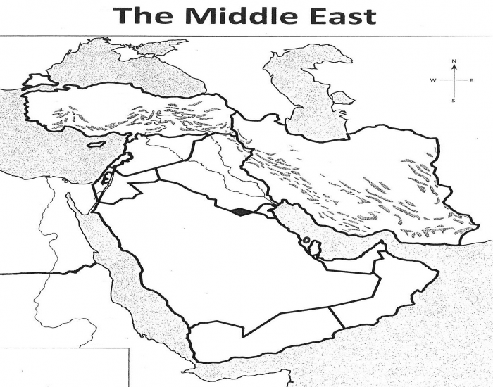 Middle East Countries and Physical Features