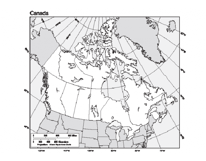 Canadian Physical Features