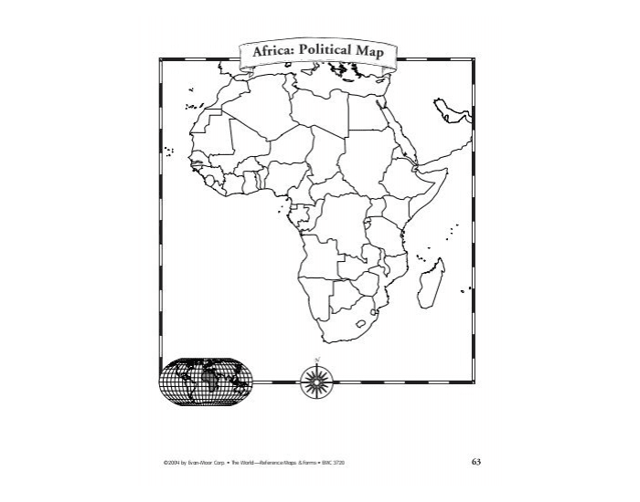 Africa:Political Map Quiz 2018 (7th Grade)