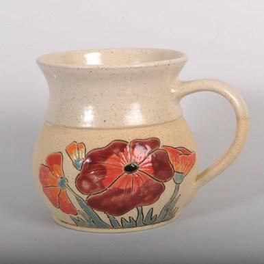 Mug - fat poppy - £14