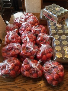tomatoes and jars