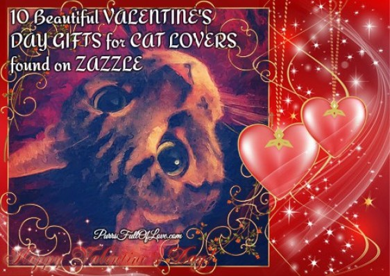 10 Beautiful Gifts For Cat Lovers Found On ZAZZLE