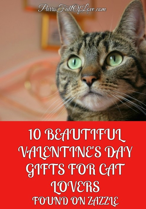 10 Beautiful Valentine's Day Gifts for Cat Lovers