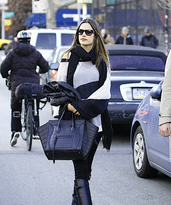 Celebrities and their Celine Luggage Totes A