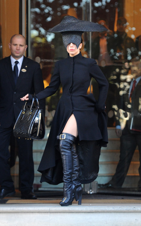 Lady Gagas Alexander McQueen Bag is the Least Insane