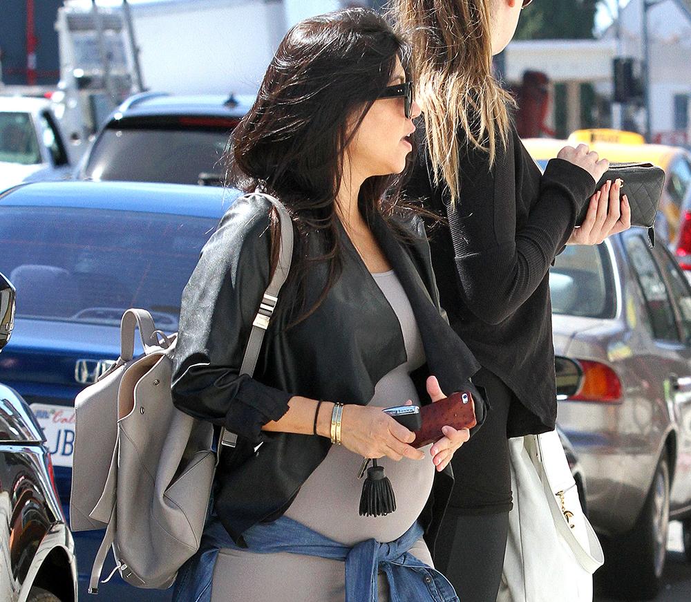Kourtney Kardashian Goes Shopping With A Proenza Schouler