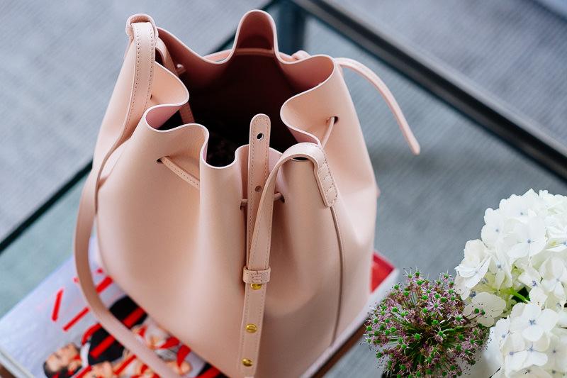 Purseonals Mansur Gavriel Bucket Bag PurseBlog