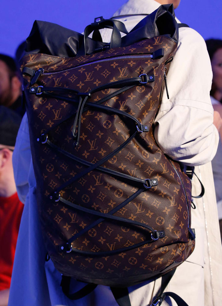 At Louis Vuittons Spring 2016 Mens Show the Bucket Bags