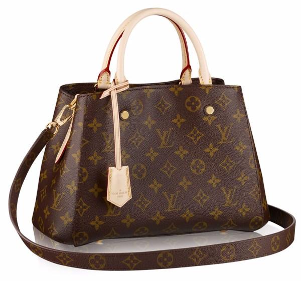 Louis Vuitton And Gucci Leading Monogram Bag