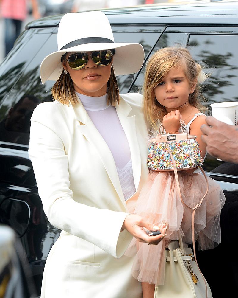 Kourtney Kardashians 3YearOld Daughter Carried a 3450