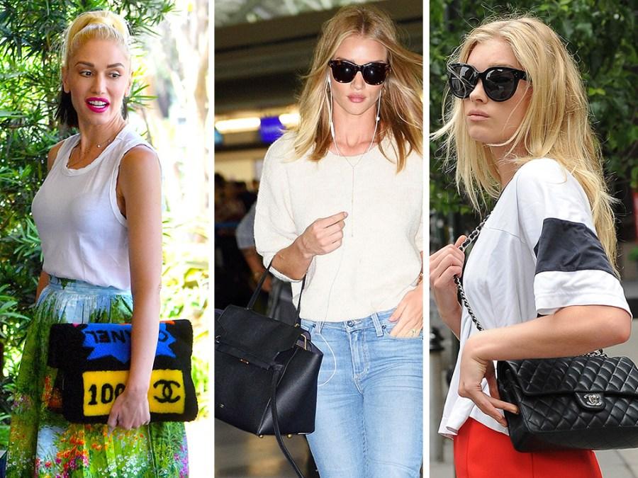 Celebrity Designer Bags June 8 - WELKE DESIGNER TASSEN DRAGEN DEZE HOLLYWOOD STERREN? Elsa Hosk- Gwen Stefani- Jennifer Garner- Jessica Alba-Kate Upton
