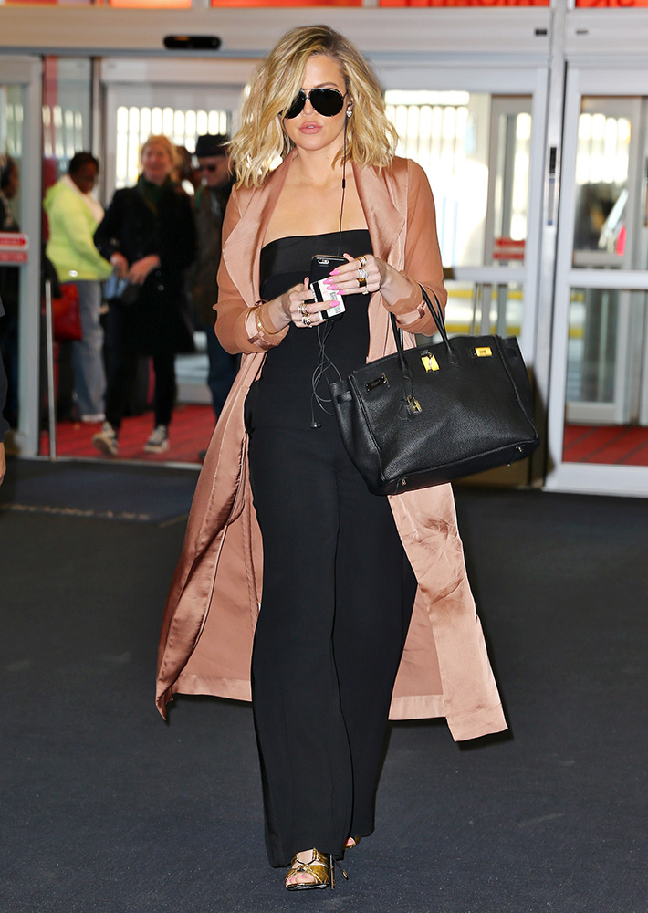 Just Cant Get Enough Khlo Kardashians Herms Birkin Collection is Nearly as Impressive as