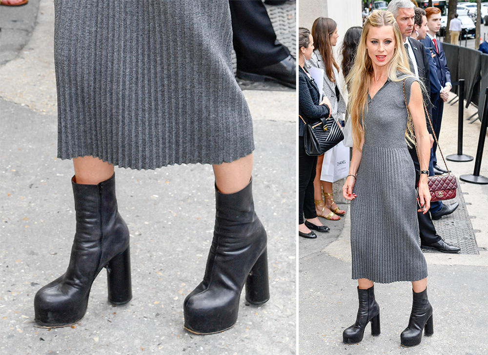 Gorgeous Fall Wallpaper The Best Celebrity Shoe Choices Of Paris Couture Week Fall