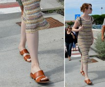 Emma Stone' Casual Shoe Style Inspiration Cool