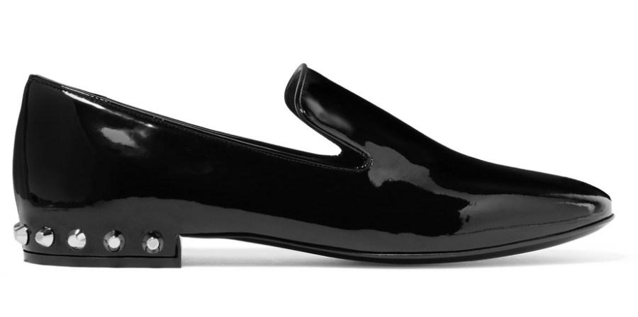 -Balenciaga bezaaid-patent-leather-loafers