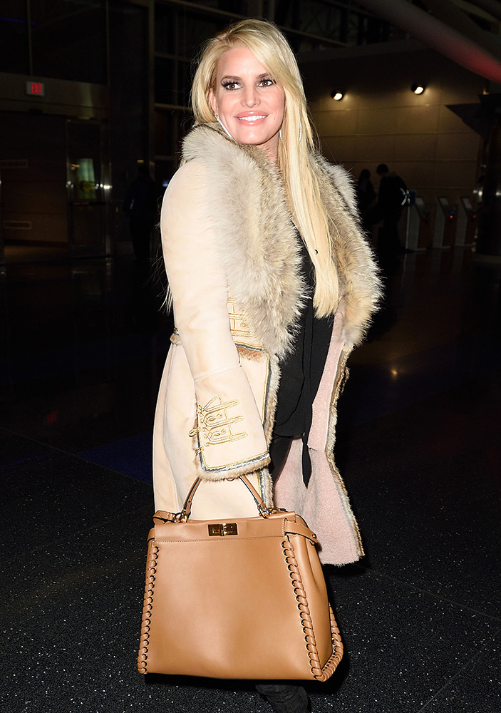 celebs carry louis vuitton fendi and chanel to see leo dicaprio derek jeter and jfk the