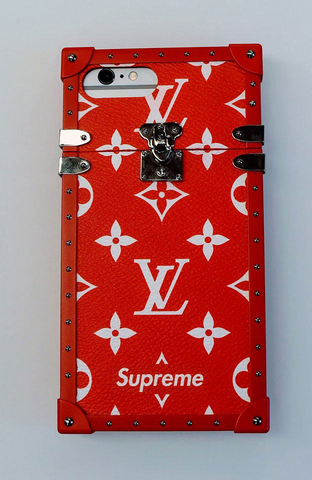Vuitton Supreme Louis Belt
