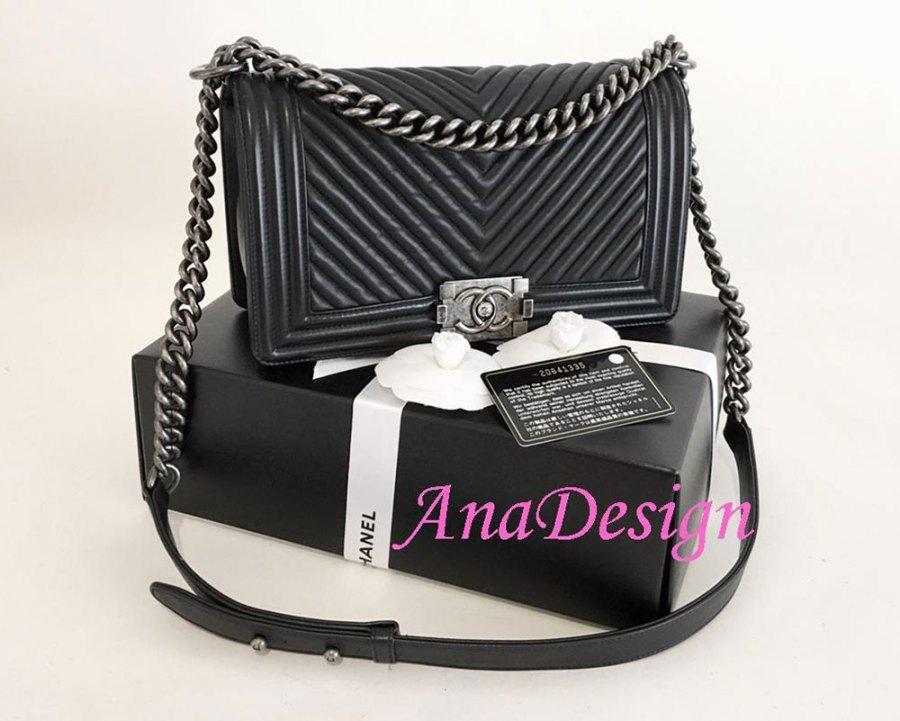 Chanel Chevron Boy Bag - De ultieme handleiding voor het kopen van Chanel Tassen Online