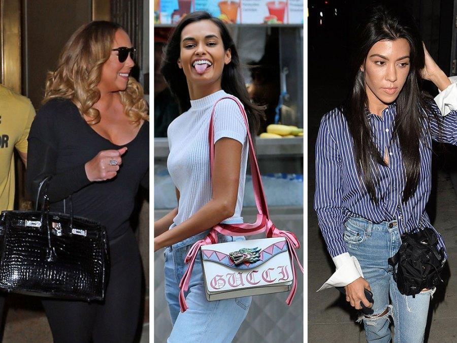 Celebrity Designer Bags 082117 - PRACHTIGE NIEUWE STIJLEN VAN GUCCI, FENDI, EN ALEXANDER WANG DESIGNER TASSEN