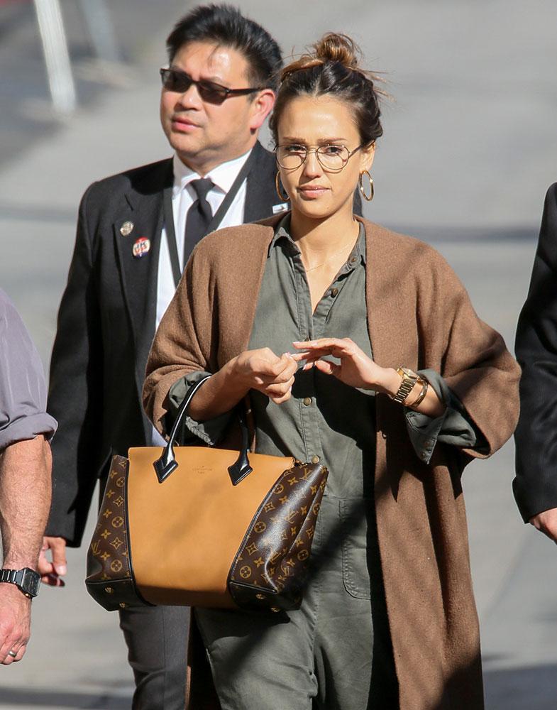 Jessica Alba Louis Vuitton W Bag - DE STIJLVOLLE DESIGNER TASSEN VAN JESSICA ALBA