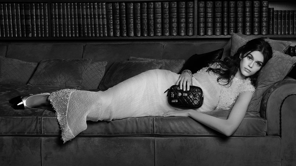 Chanel Releases New Handbag Ad Campaign Fronted by Kaia