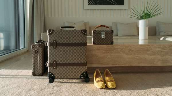 Gucci Collaborates With Globe-trotter Functional