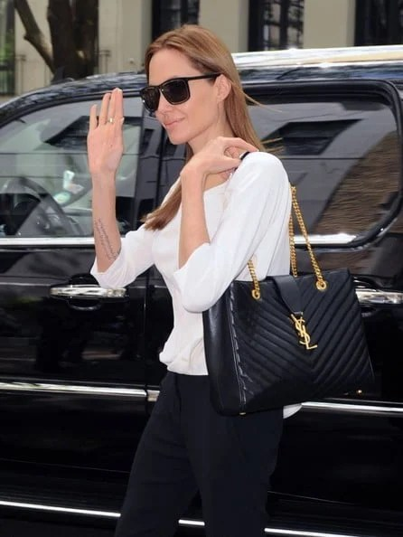 Celebrities Carrying Saint Laurent Bags