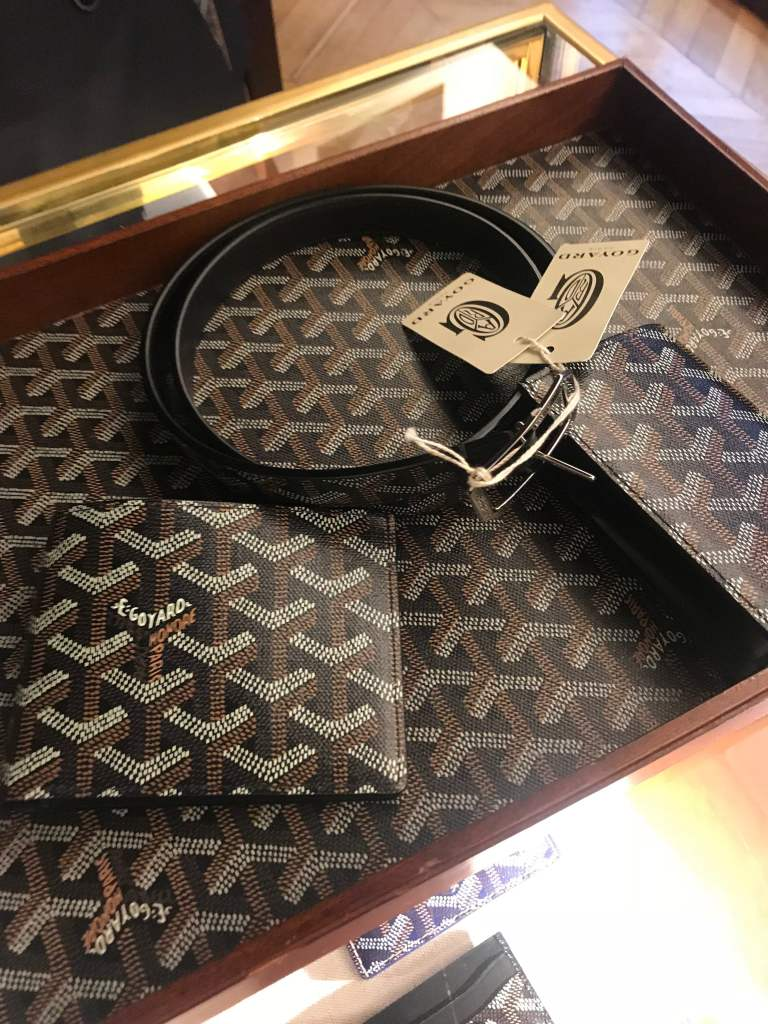 goyard mens wallet mens belt black