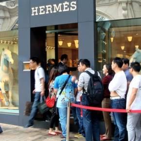 Hermès Hong Kong. Photo courtesy: Bon Brand