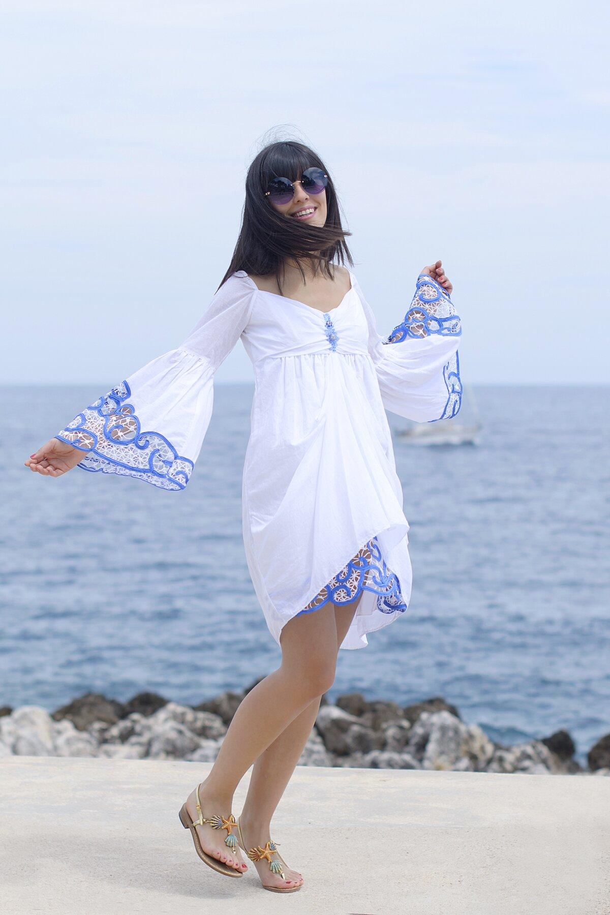 Gioiello 6vgiyfy7b Sandali Biancoamp; Outfit Da Marekaftano nXwP80Ok