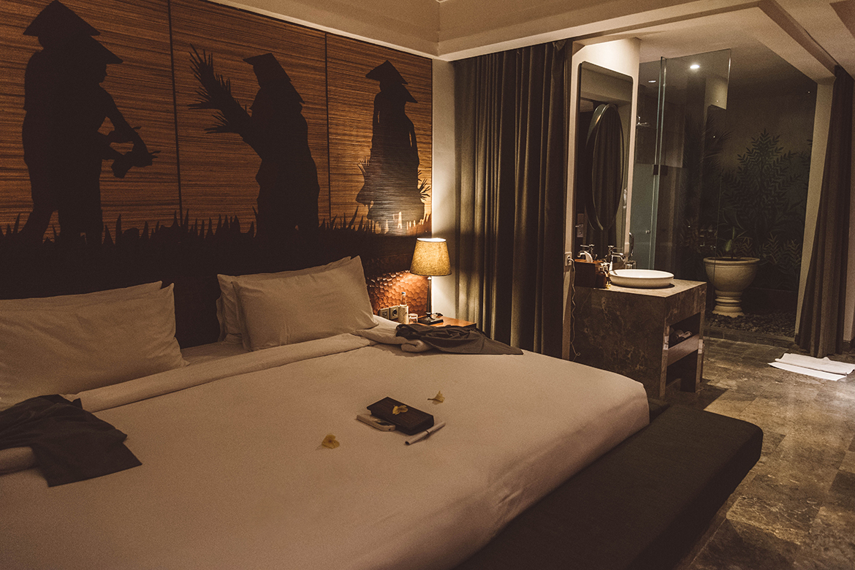 Camera all'Alaya Resort Ubud - Il mio viaggio a Bali: cosa vedere, dove dormire e mangiare