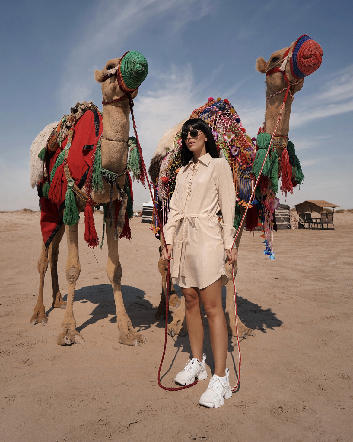 Cosa vedere a Doha e in Qatar by Laura Comolli - Sealine Desert Camp