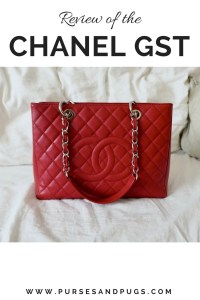 Handbag review. Chanel GST in red caviar. Chanel grand shopping tote.