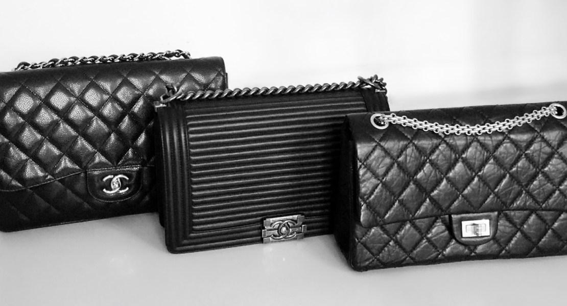 Chanel Jumbo, Chanel new medium Boy and Chanel 226 Reissue handbags