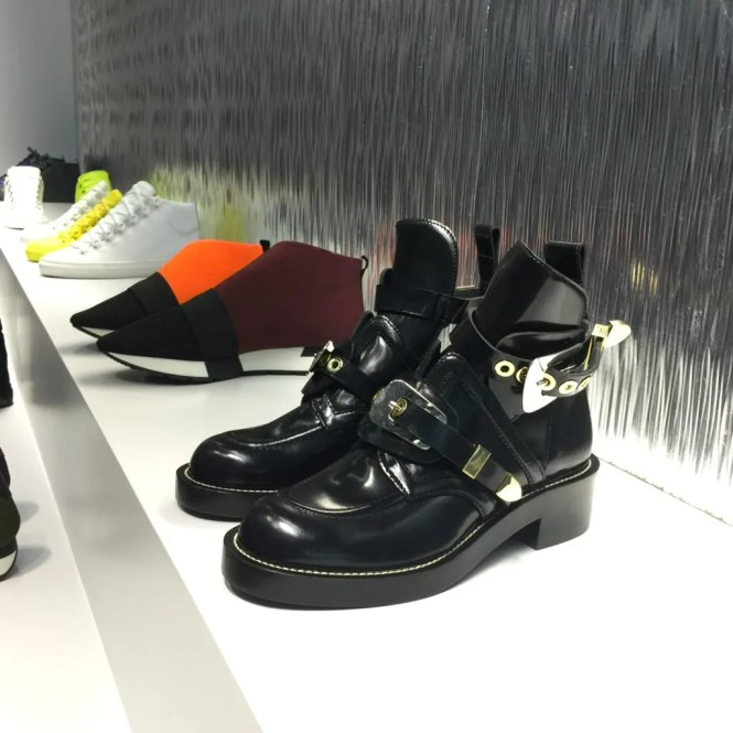 Balenciaga Ceinture cut out boots