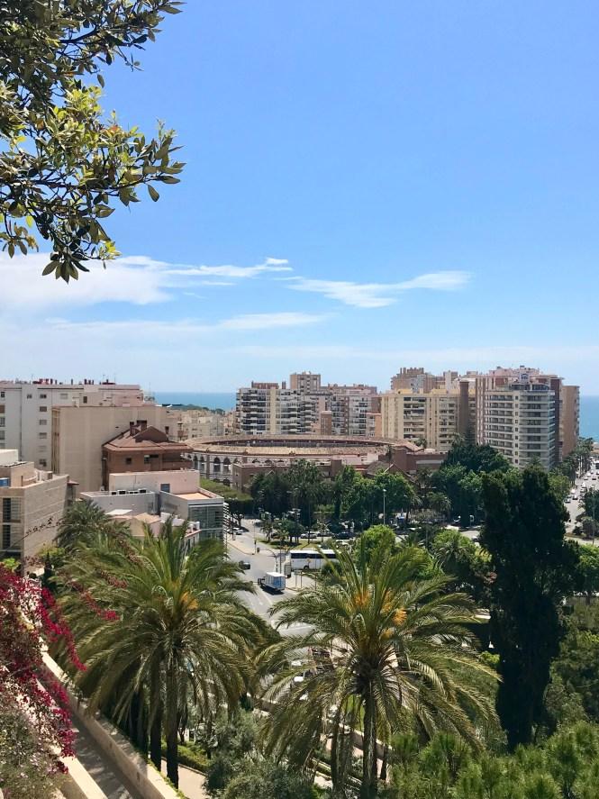 Hiking in Malaga - Castillo de Gibralfaro