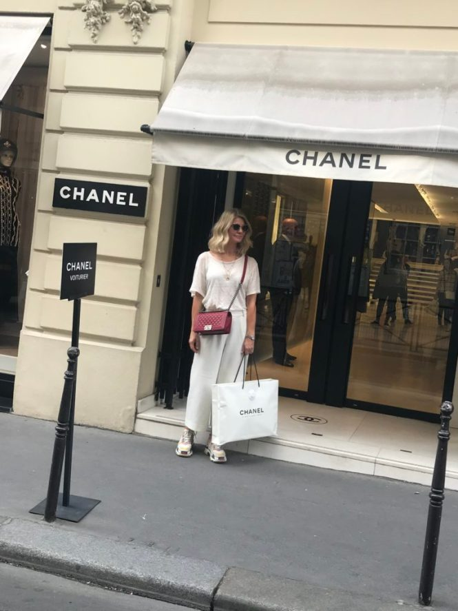 Chanel shopping at 31, Rue Cambon in Paris