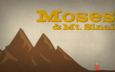 Moses and Mt. Sinai
